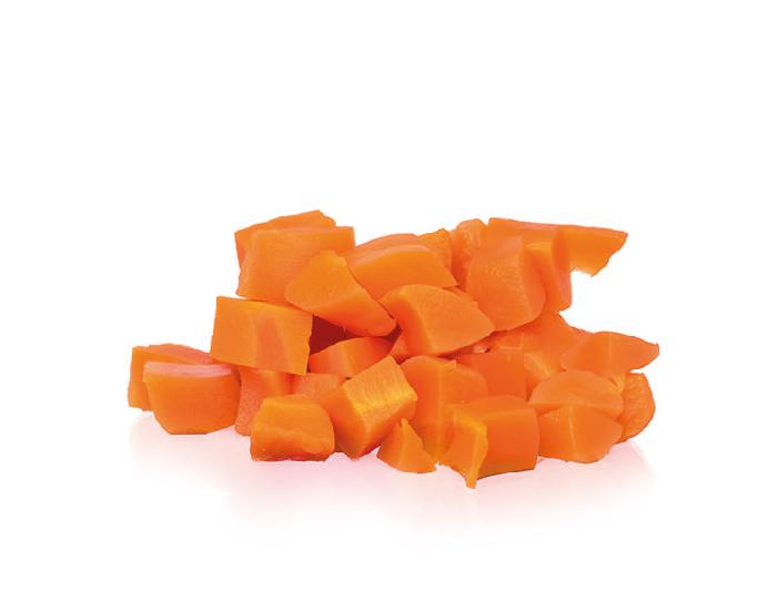 dados de zanahoria